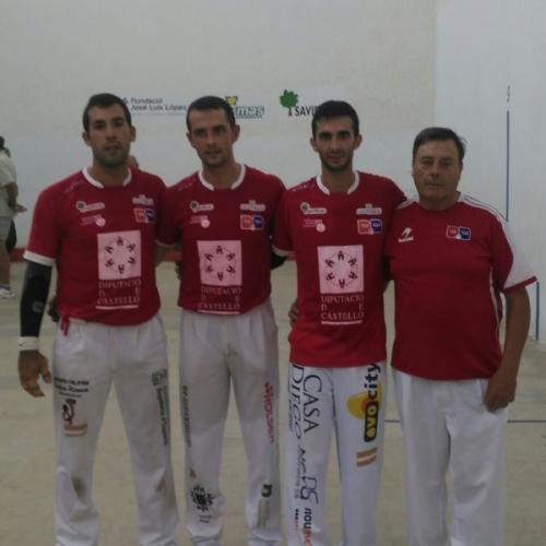 Marc, Pere y Bueno se alzan con el Trofeu Diputació de Castelló