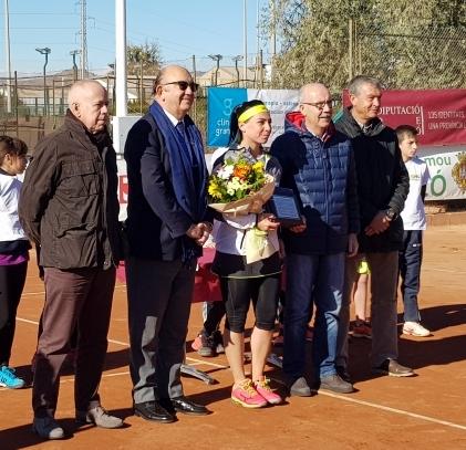 El Circuito WTA - Castellón finaliza por todo lo alto
