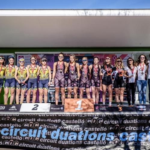 C.T. Arena Alicante y Universidad de Alicante campeones autonómicos de Duatlón de Almenara