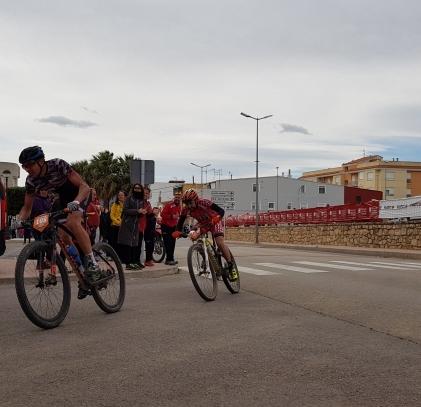 Rubén Albiol primer ganador en Vall d´Alba de la XCMaraton Diputación