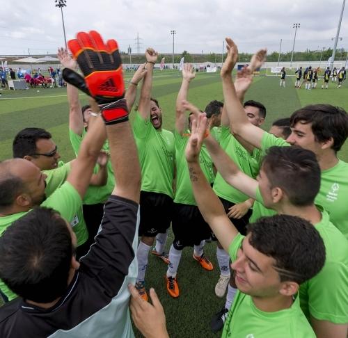 Otra edición del Campeonato de F7 Unificado Special Olympics España en Vila-real