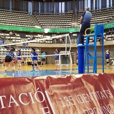 Las chicas del Sóller campeonas cadetes de voleibol en Castellón