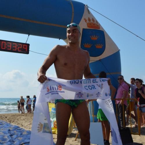 Carlos Rivera campeón absoluto y en el autonómico de Burriana