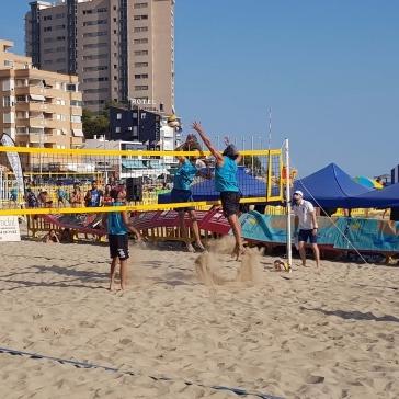 Orpesa fue la primera parada del Circuito Provincial Volei Playa