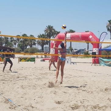 Más participación en la segunda prueba del circuito de vólei playa