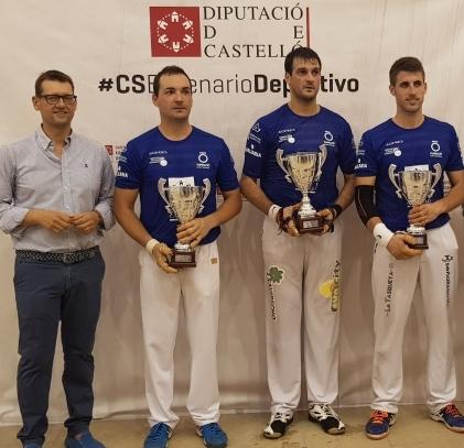 Genovés II, Raúl y Carlos campeones del Trofeu Diputació de Castelló