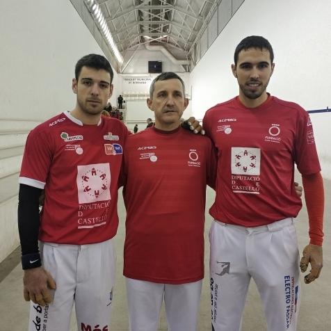 """José Salvador y Carlos contra De la Vega y Álvaro, la gran final del """"TROFEU JOVES"""""""