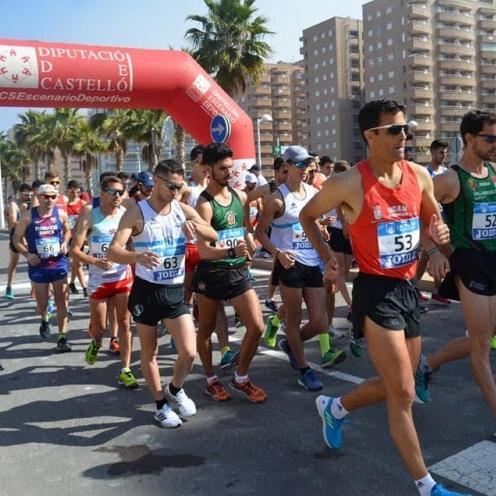 Oropesa del Mar presencia un gran Campeonato de España de 20KM marcha