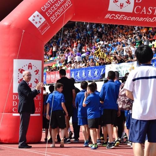 La Diputación trae más de 3.000 deportistas con tres torneos de fútbol en #CSEscenarioDeportivo