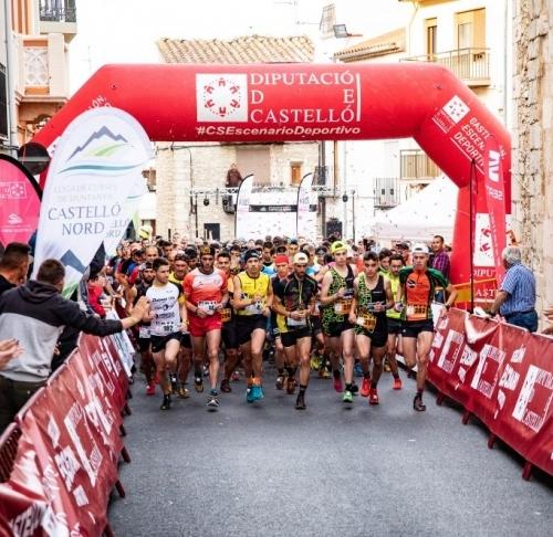 Éxito de la nocturna en Catí con victoria de María Obrero y Cristobal Adell