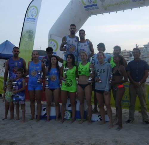 Gran participación nacional en la cita de volei playa de Oropesa