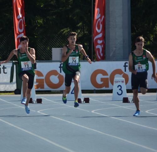 Seis medallas del Playas en el Nacional sub-18 de Castellón