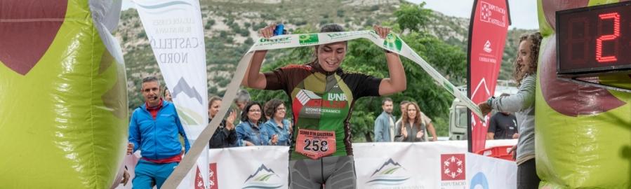 Victoria de Gerard Morgado y Sonia Mundina a la XX Vuelta a Pie a la Sierra Engarcerán