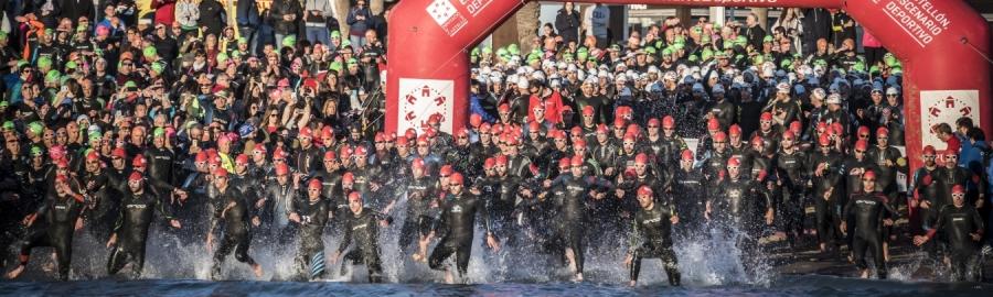Tim Don y Carolina Granfors triunfan en la séptima edición del Infinitri Half Triathlon