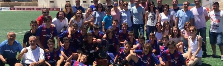 El ALZIRA campeón del Trofeo Infantil José Mangriñán por tercera vez