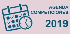 Agenda Competiciones 2019