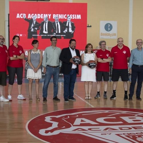 Los mejores entrenadores de España en el ACB Academy en Benicàssim