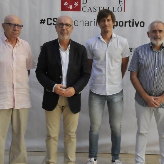 Diputación refuerza su unión con el Playas de Castellón