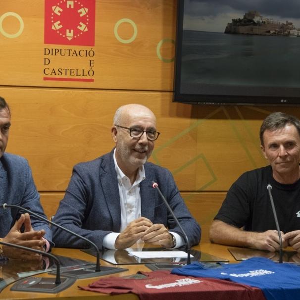 Diputación impulsa un triatlón extremo entre Peñíscola y Vistabella