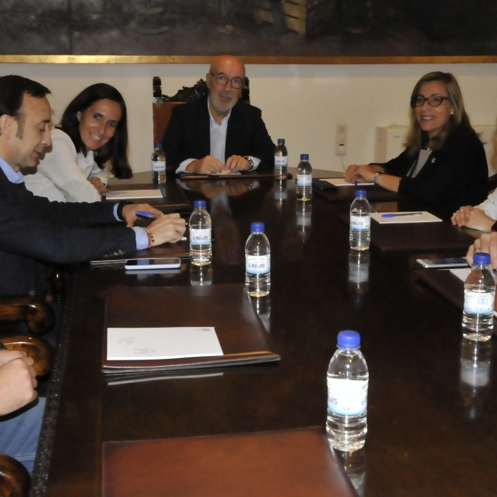Diputación y Patricia Campos avanzan en hacer del deporte un aliado