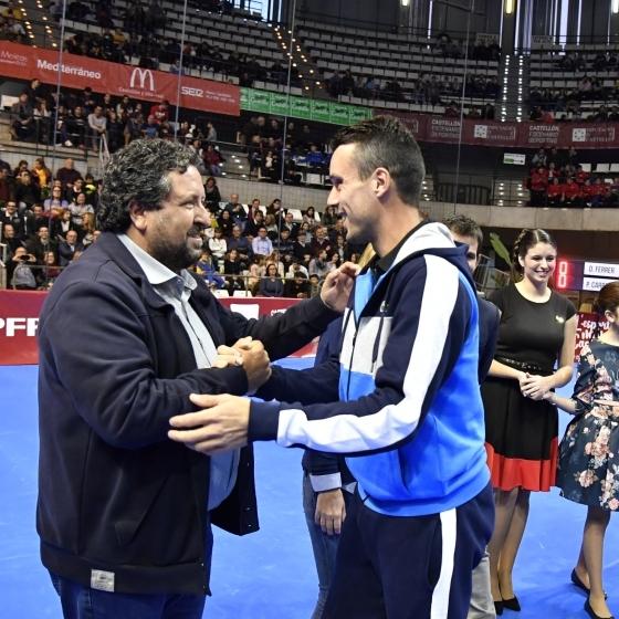 Moliner asiste a la Gran Fiesta del Tenis Español