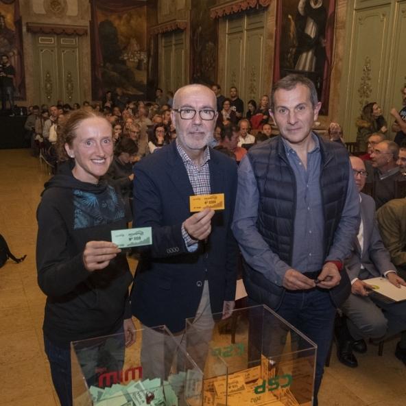 Diputación acoge el sorteo de los 2.100 dorsales de la 21ª Penyagolosa Trails