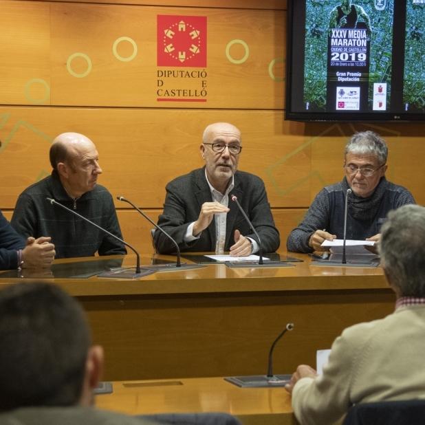 Diputación impulsa la XXXV Media Maratón de Castellón - Gran Premio Diputación