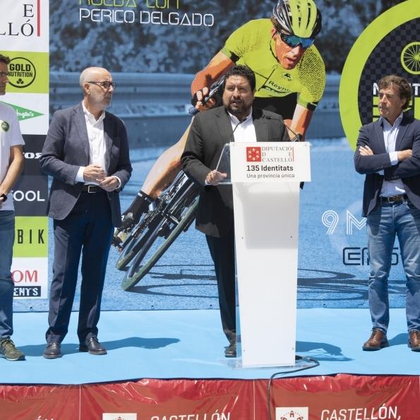 Diputación completa su impulso al ciclismo en #CSEscenarioDeportivo