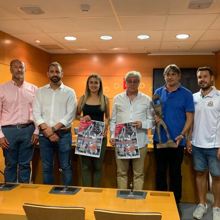 Tau Castelló i Valencia Basket disputaran el divendres 30 el VII Trofeu Diputació Copa Lexus