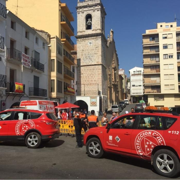 La Diputació mobilitza a Protecció Civil i Bombers per a donar cobertura al pas de La Vuelta