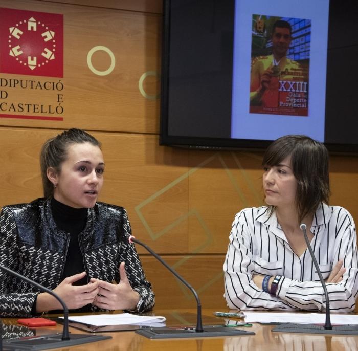 La Diputación y la Prensa Deportiva premian el esfuerzo de los deportistas de Castellón