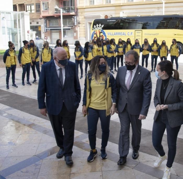 La Diputación de Castellón acogerá durante tres días la copa de la UEFA Europa League para celebrar el triunfo del Villarreal CF