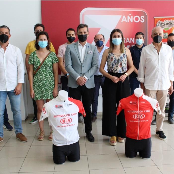 Tania Baños presenta la V edició del Challenge BTT Marató Diputació de Castelló