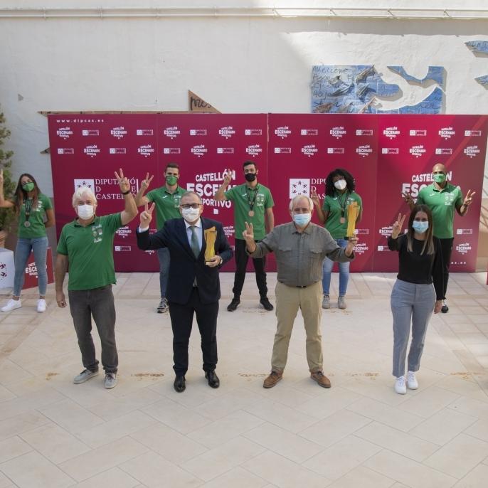 La Diputació de Castelló subvenciona amb quasi un milió d'euros a 35 clubs d'alt rendiment