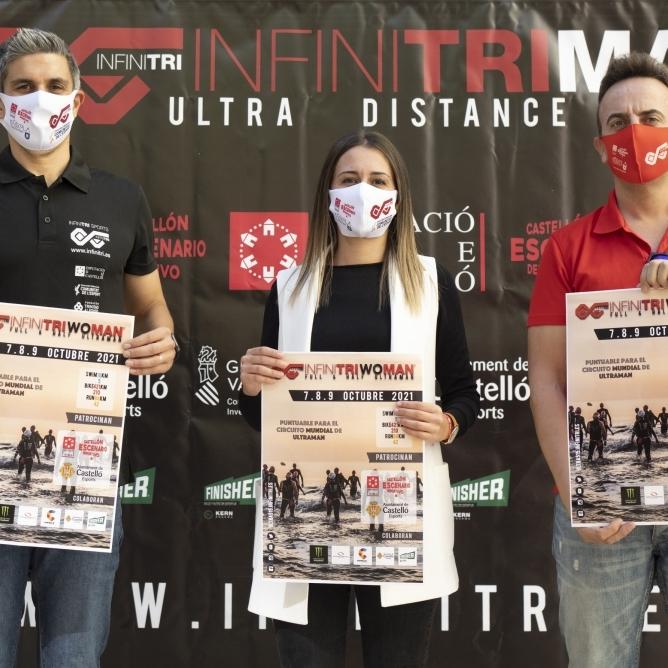 La Diputación renueva su compromiso deportivo apoyando la quinta edición del InfinitriMan 2021