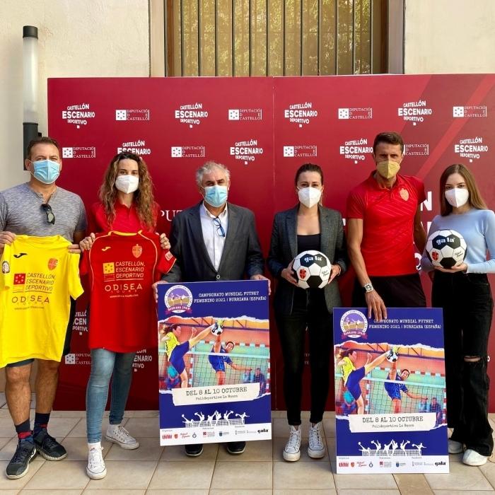 La Diputación apoya económicamente el campeonato mundial Futnet femenino que se celebra este fin de semana en Borriana
