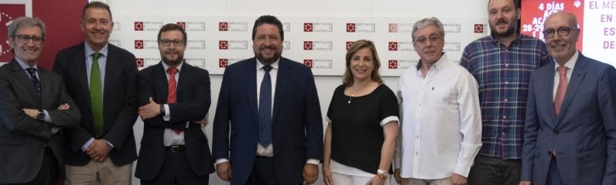 La Diputación y la ACB covierten esta semana la provincia en sede mundial del baloncesto