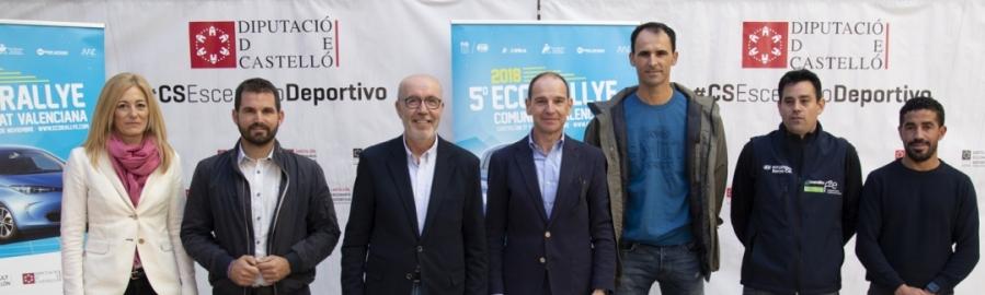 Diputación impulsa el V EcoRallye Comunitat Valenciana como parte de Castellón Escenario Deportivo