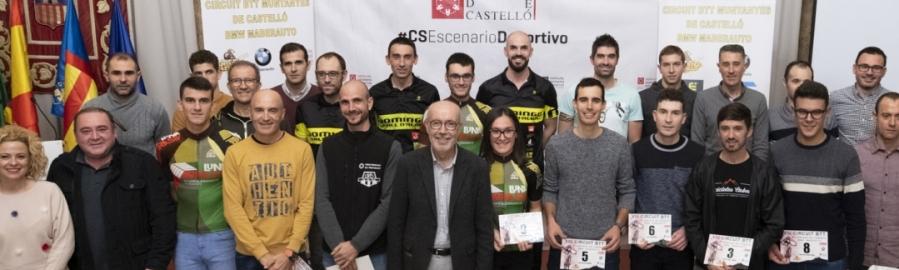 Diputación acoge la clausura del VIII Circuit BTT Muntanyes de Castelló