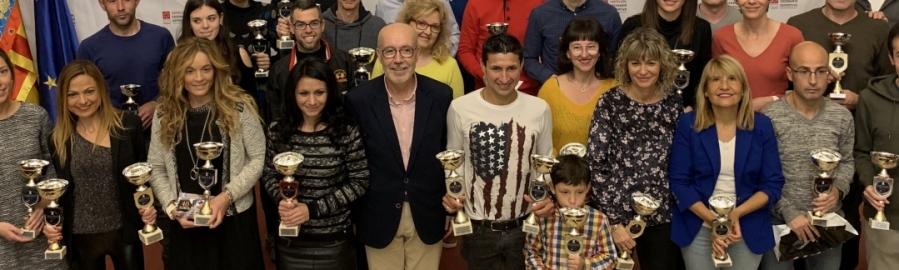 Diputación acoge la clausura del X Circuito Diputación de Carreras Populares
