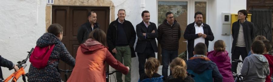 La Diputación crea el Centro de BTT de Tírig en su impulso al turismo de experiencias