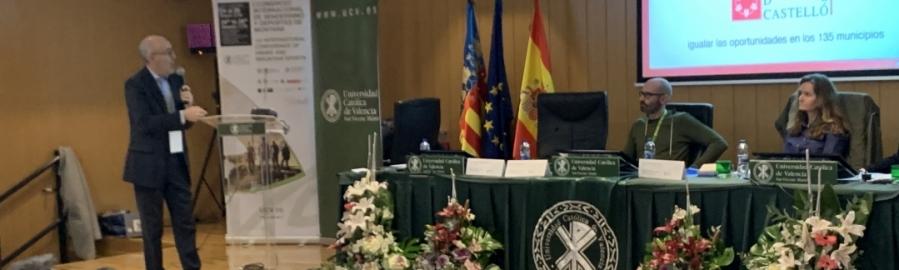 Diputación expone 'Castellón Escenario Deportivo' en un Congreso Internacional