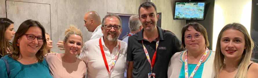 """Martí: """"La Vuelta cuenta con la provincia para continuar dando soporte a este gran evento deportivo"""
