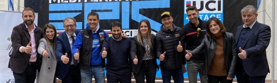 La Diputación invierte 75.000 euros en la 'III Mediterrean Epic', en la que participan 700 ciclistas procedentes de 32 países
