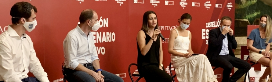 Tania Baños califica de éxito el ciclo de conferencias organizado por la Diputación para la adaptación del tejido deportivo de la provincia a la nueva realidad